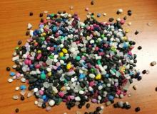 SEBS гранула цвет микс SEBS pellets